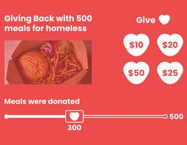 #12 for Build Landing Page of Fundraising Campaign For Homeless by Flametric