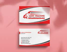 nº 52 pour Business cards - trucking company par rockondesign