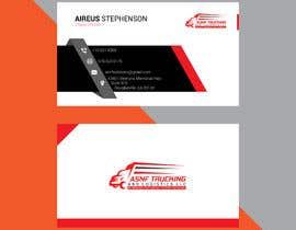 nº 6 pour Business cards - trucking company par yahyazohir