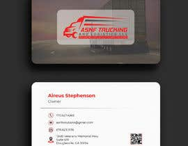#183 for Business cards - trucking company af Shupto98