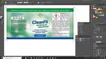 Graphic Design Entri Peraduan #15 for Set of packaging labels for cleaning stuff