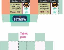 Nro 4 kilpailuun Design concept and 3D renders for a box containing 2 tablets against fleas and ticks for cats käyttäjältä ahsanakter
