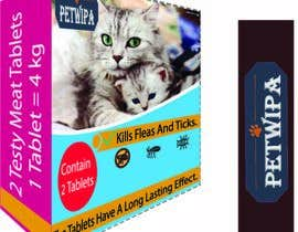 #16 untuk Design concept and 3D renders for a box containing 2 tablets against fleas and ticks for cats oleh ahsanakter