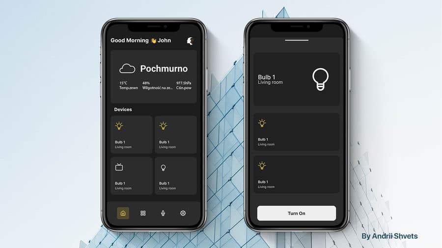 Contest Entry #                                        26                                      for                                         Mobile app design for smart home