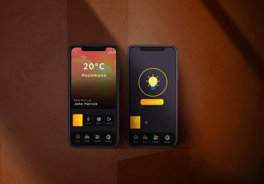 Contest Entry #                                        16                                      for                                         Mobile app design for smart home