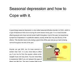 #40 cho Please write me a resume on seasonal depression and how to cope bởi Express360