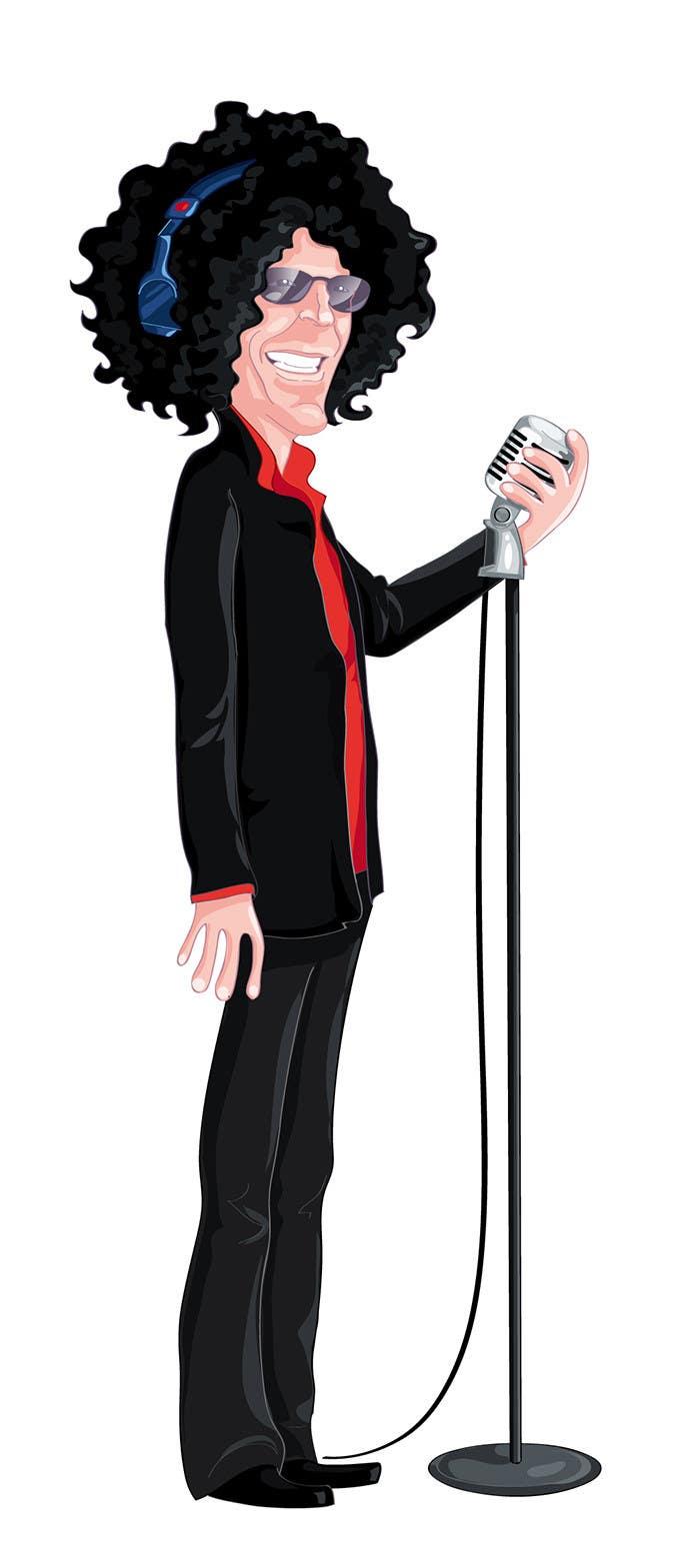 Penyertaan Peraduan #25 untuk Cartoon for The Howard Stern Show