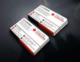 #133 for Business Card English and French by RiazHossen