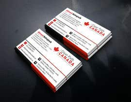#134 for Business Card English and French by RiazHossen