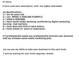 #9 cho Need a Social Media Manager (Instagram, Facebook and Twitter) $100/month bởi sarfarazkhan10