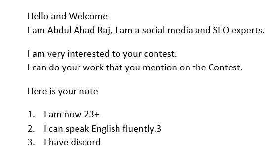 Kilpailutyö #                                        2                                      kilpailussa                                         Need a Social Media Manager (Instagram, Facebook and Twitter) $100/month