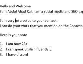 #2 cho Need a Social Media Manager (Instagram, Facebook and Twitter) $100/month bởi AbdulAhadRaj