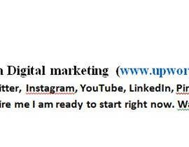 #10 cho Need a Social Media Manager (Instagram, Facebook and Twitter) $100/month bởi bipulali5001