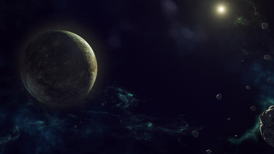 Contest Entry #14 for I need 2 space backgrounds designed