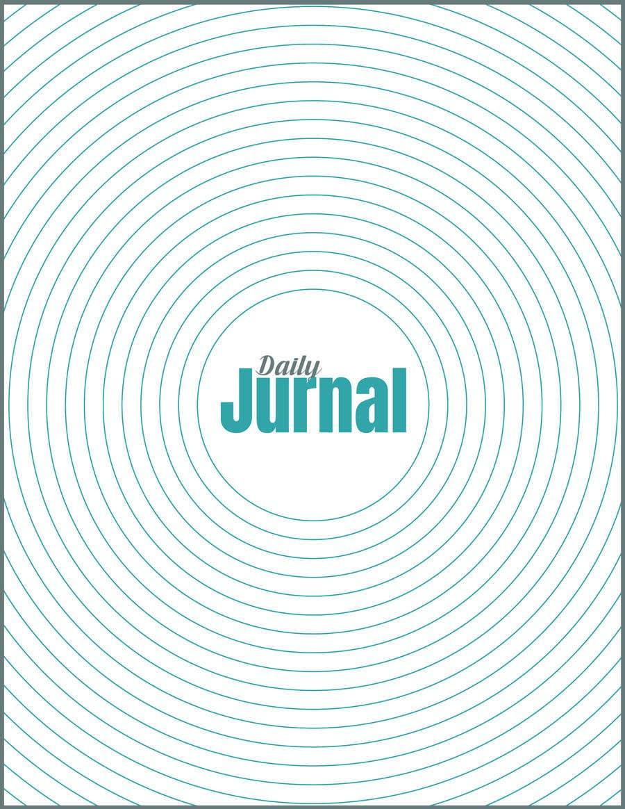 Kilpailutyö #                                        17                                      kilpailussa                                         Design a Journal (Cover + Page) for Print