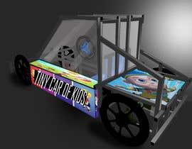 Nro 22 kilpailuun Design sketch for a tiny car for kids käyttäjältä FouziGhezzal16