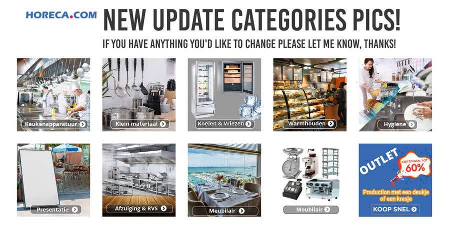 Конкурсная заявка №                                        49                                      для                                         New design for 10 Categories pics