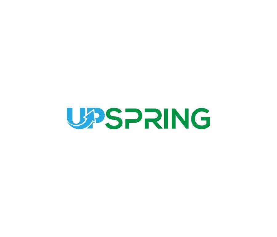 Kilpailutyö #                                        133                                      kilpailussa                                         Create a logo for Upspring