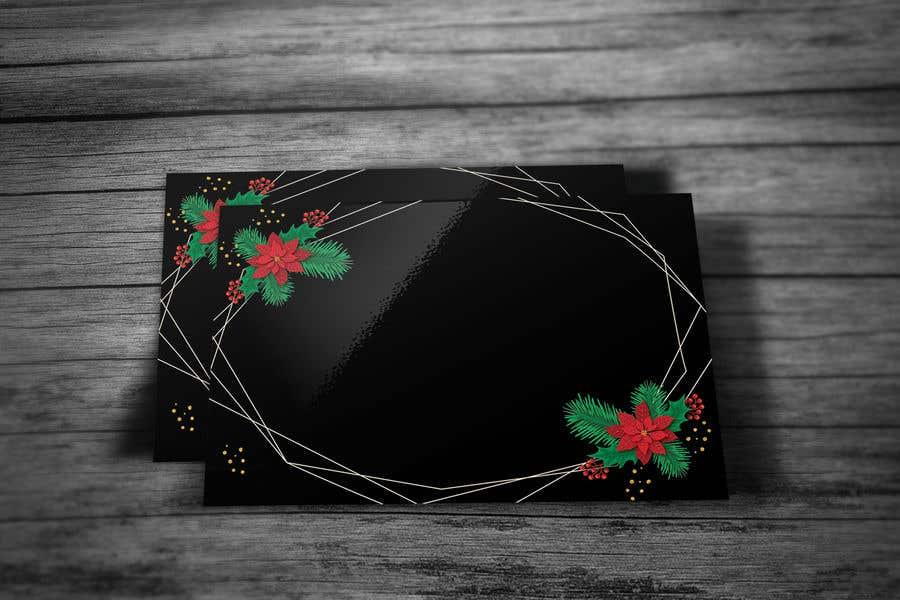Contest Entry #                                        65                                      for                                         Christmas Card Postcard Border Design