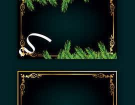 #61 for Christmas Card Postcard Border Design by imranislamanik