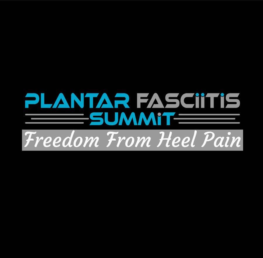 Bài tham dự cuộc thi #                                        38                                      cho                                         Plantar Fasciitis Summit Logo