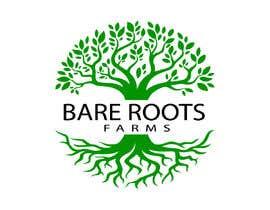#485 for design logo Bare Roots Farms af mdsany2807