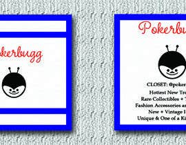 #112 for Pokerbugg - Business Card Design by SelinaNur57