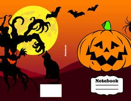 #11 for Need Halloween Cover for  Notebook Designed by pusztineagnes