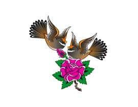 deenarajbhar tarafından Logo Design for Local Birds in Ed Hardy Tattoo Art Style. Graphic artist için no 97