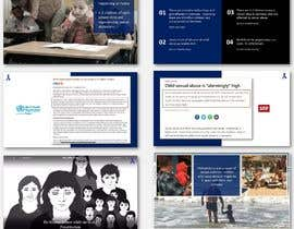 #13 for Designing an existing speech PPT - Hands Off Stop Child Abuse by ahmedakhlaque021