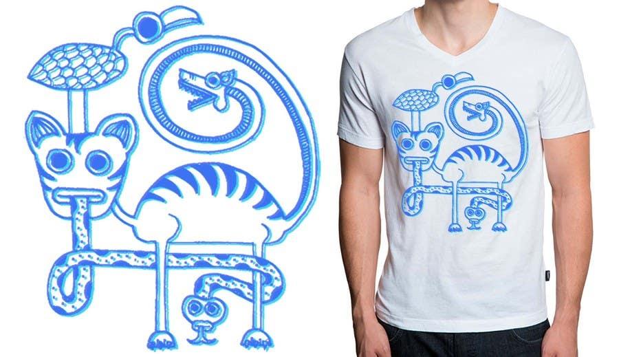 Konkurrenceindlæg #                                        7                                      for                                         T-shirt Design for new clothing business