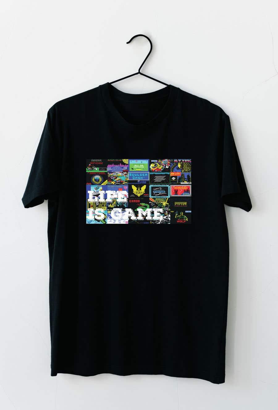 Proposition n°                                        95                                      du concours                                         make a modern t-shirt design for a retro computer