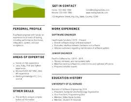 #24 cho I need 2 Academic CV format bởi sapnay1411