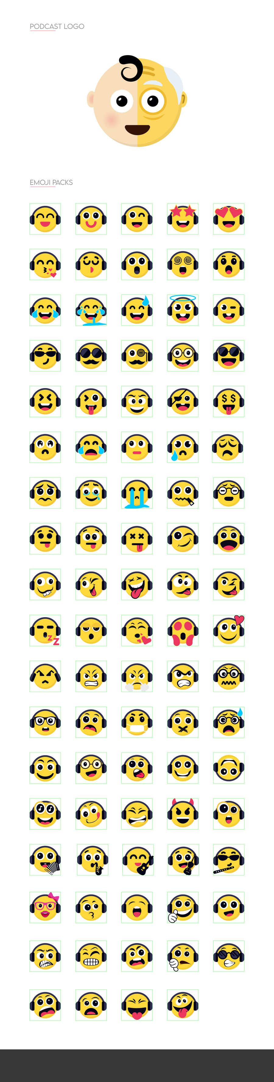 Bài tham dự cuộc thi #                                        202                                      cho                                         Design custom emojis for a YouTube-channel's membership program