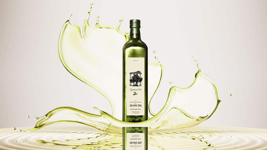 Proposition n°                                        135                                      du concours                                         Olive Oil Bottle Logo