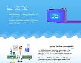 #63 cho Explainer Website for Marine Battery startup product bởi herodesigndiego