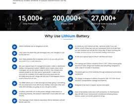 #21 cho Explainer Website for Marine Battery startup product bởi anam02