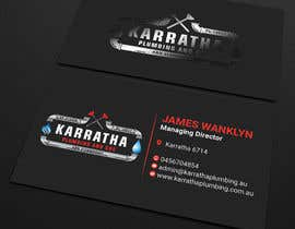 #1066 for BUSINESS CARD DESIGN FOR PLUMBING & GAS COMPANY af PreetySignature