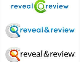 #127 para Logo Design for my online busines - Reveal and Review por nole1