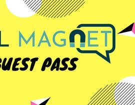 "#24 for ""Guest Pass"" Ticket graphic for Social Magnet by yaduvanshiraj555"