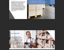 Nro 14 kilpailuun Design a brochure for warehousing and logistic Company käyttäjältä ChiemiDesigns
