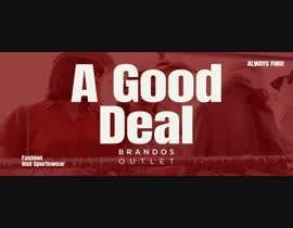 Nro 34 kilpailuun Create Hero banner Videos - Brandos outlet/sale message käyttäjältä JoeMustafa4
