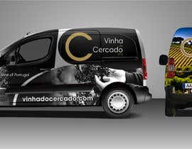 #69 untuk Design a car wrap for vineyard delivery car oleh franklugo