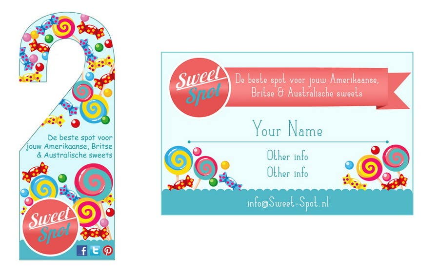 Contest Entry #                                        16                                      for                                         Print & Packaging Design for Business card and door hanger