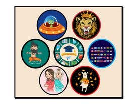 #33 untuk Round Sticker Creation!!! Unique kid friendly round stickers needed! Theme of stickers included oleh mshahanbd
