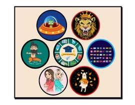 mshahanbd tarafından Round Sticker Creation!!! Unique kid friendly round stickers needed! Theme of stickers included için no 33