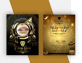 #28 untuk Finish the business card for classy gems, Edit templates included. oleh GustavoBeltranF