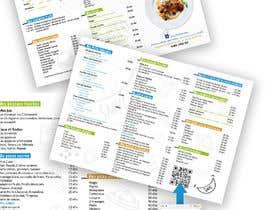 nº 12 pour Créer un désign de menu sous forme de flyer A5 3 volets pour notre restaurant par zmdes