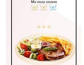 nº 18 pour Créer un désign de menu sous forme de flyer A5 3 volets pour notre restaurant par AbodySamy