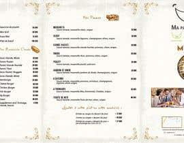 nº 19 pour Créer un désign de menu sous forme de flyer A5 3 volets pour notre restaurant par SimohamedElb